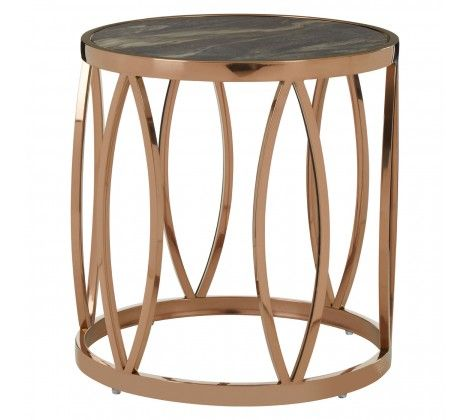 Tulare Leaf Side Table
